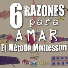 PEQUEfelicidad: 6 RAZONES PARA AMAR EL MÉTODO MONTESSORI Maria Montessori, Teaching, Education, Kids, Homeschooling, Inspiration, To Tell, Activities, Montessori Practical Life