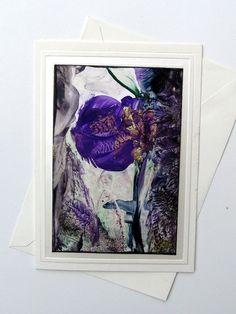 Fine Art Gift Original small encaustic Painting by StudioSabine, $15.00