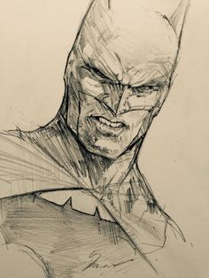 daveseguin: Batman Sketch