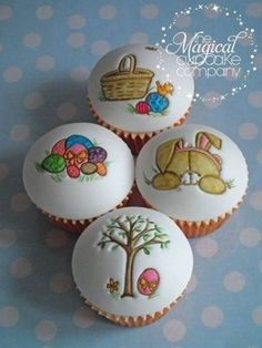 Easter Cupcakes The Magical Cupcake Company