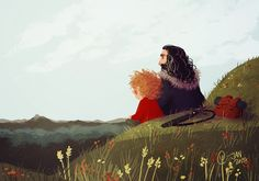 Thorin and Bilbo