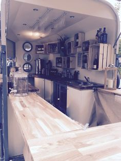 In August 2016 The Pickled Pony was born, our quirky mobile bar and coffee house… - cocktail Catering Trailer, Food Trailer, Food Trucks, Converted Horse Trailer, Barista Coffee Machine, Horse Box Conversion, Coffee Food Truck, Mobile Coffee Shop, Prosecco Bar
