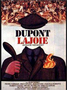 """Poster de """"Dupont Lajoie"""" (1975) de Yves Boisset."""