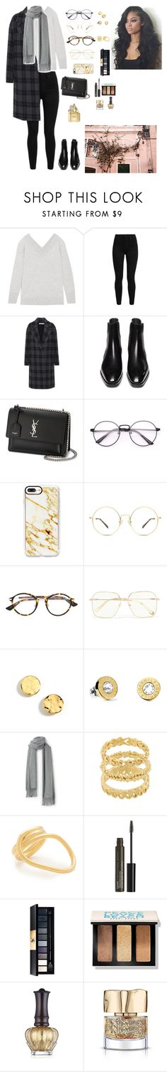 """""""Street shoot 21"""" by tailor-nicole ❤ liked on Polyvore featuring Equipment, Levi's, Vince, Yves Saint Laurent, Casetify, Christian Dior, Chloé, Kenneth Cole, Tommy Hilfiger and Wouters & Hendrix"""
