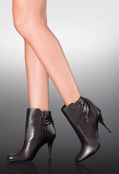 This polished bootie with tassle detail will keep your outfits updated this season.
