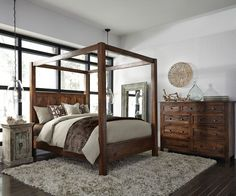 (http://www.zinhome.com/kosas-solid-wood-canopy-king-bed/)