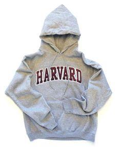 Harvard Sweatshirt (Hooded, Arch Logo, Tackle Twill)