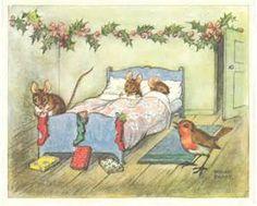 Vintage Christmas Card - Bing Images