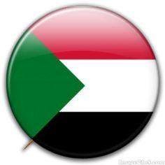 Sudan flag badge