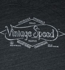 VINTAGE SPEED LOGO TEE