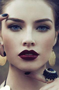 close up  lipstick colour