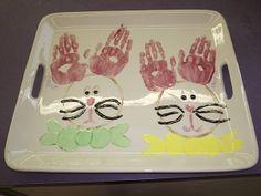 bunny hand print tray ccsa photo share