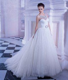Demetrios Wedding Gown style 555, Ilissa Collection, Bridal Dresses   Be a #DemetriosBride! http://bit.ly/1n9WjSL