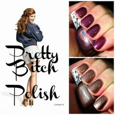 Pretty Bitch Polish Dirty Wh@re and Gobble Gobble F&ckers