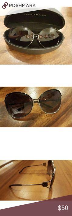 Armani Exchange Smoked black sunglasses Armani Exchange Smoked black sunglasses Armani Exchange Accessories Sunglasses