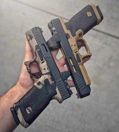 Custom Stippling & Firearms Gallery | Battle Ready Arms Glock Guns, Weapons Guns, Guns And Ammo, Glock 9mm, Glock Stippling, Armas Airsoft, Gun Vault, Custom Guns, Glock 17 Custom