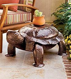 hammered-iron-patio-and-garden-turtle-bench