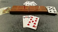 Travel Cribbage game from the Manville Kendrick collection at Trail End State Historic Site, Sheridan, Wyoming