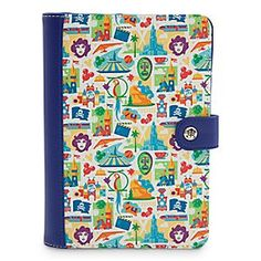 Disneyland Resort Icons Electronic Reader Case | Disney StoreDisneyland Resort Icons Electronic Reader Case - Bring back fun-filled memories of The Happiest Place on Earth with our fashion e-reader case. Crafted from textured faux leather, this colorful case is patterned with retro-styled icons of your favorite Disneyland rides and attractions!