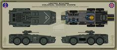 Colonial Marines attack vehicle