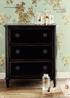 rpk interiors the painted drawer link party pinterest drawers interiors and chalk paint. Black Bedroom Furniture Sets. Home Design Ideas