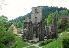 Black Forest Germany | All Saints Abbey (Oppenau, Black Forest, Germany)