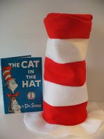 Seuss hat tutorial You are in the right place about dr seuss costumes for women Here we offer yo Dr Suess Hats, Dr Seuss Costumes, Dr Seuss Birthday Party, Birthday Ideas, Dr Seuss Crafts, Dr Seuss Week, Hat Tutorial, Cat Hat, Sewing Projects