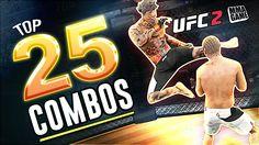 EA Sports UFC 2 - 25 HUGE Knockout COMBOS!