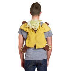Yoda backpack. This is GENIUS.