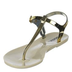 Soda IanS Sandal  Gold Size 8 * You can find more details by visiting the image link.