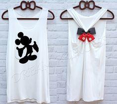 Mickey Mouse Disney Princesse débardeur: débardeur Disney /