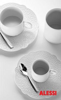 Dressed - table set, Marcel Wanders, 2011 #alessi #design