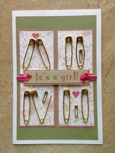 Cute & whimsical baby card