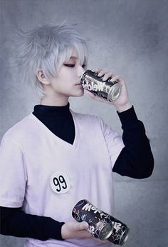 Killua-Zoldyck-cosplay | Tumblr - COSPLAY IS BAEEE!!! Tap the pin now to grab yourself some BAE Cosplay leggings and shirts! From super hero fitness leggings, super hero fitness shirts, and so much more that wil make you say YASSS!!!
