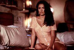 Beautiful Salma Hayek at the set of Desperado