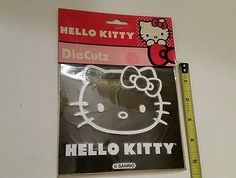 Hello Kitty - Cars SUV's Trucks Vinyl Die Cut Peel N' Stick Decal Sticker