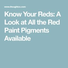 Red is a dominant color and a small amount in a painting will draw in your eye. Various red pigments each have their own characteristics. Acrylic Painting Techniques, Painting Lessons, Watercolor Techniques, Painting Tips, Art Techniques, Art Lessons, Watercolor Paintings, Watercolors, Painting Tutorials