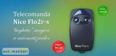 Ai nevoie de o #bagheta pentru #automatizari #porti ? Alege #telecomanda #nice #flo2r-s si fii #magician pentru orice #automatizare ! http://www.automatizari.store.ro/Telecomenzi-radio/Producator-automatizari-Nice/Telecomanda-Nice-Flor-s-FLO2R-S