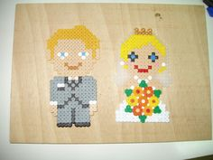 Married couple hama beads by Alfons05