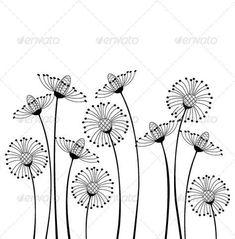 Meadow Flowers - Flowers & Plants Nature #flowersplantsillustration