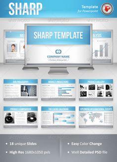 Sharp Powerpoint Template