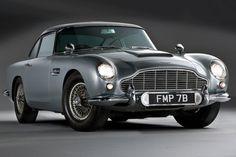 Aston Martin DB5 : la voiture de James Bond auxenchères / For more beauty in your life ♥ Visit www.glueckstueck.com and be a Fan: www.facebook.com/glueckstueck