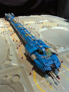 https://flic.kr/p/5g3Rk2   HGCS_05   Hunter-Gratzner, the spaceship from the movie Pitch Black build in Lego