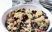Rizoto se zeleninou 2 Potato Salad, Potatoes, Ethnic Recipes, Food, Potato, Essen, Meals, Yemek, Eten