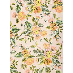 Rifle Paper Co. Jardin De Paris Floral Wrapping Paper