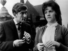 As they were: Helen Fraser and Tom Courtenay in 1963's Billy Liar