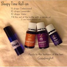 Young Living Essential Oils Sleepy Time Roll-on Lavender Cedarwood Valor Valor Young Living, Young Living Oils, Young Living Sleep, Young Essential Oils, Essential Oils For Sleep, Valor Essential Oil Uses, Sleeping Essential Oil Blends, Essential Oil Diffuser Blends, Osho