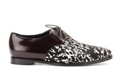 burberry prorsum haircalf + leather brogues