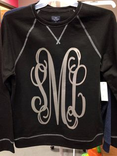 Tried to purchase this shirt but the monogram letters do not come on the shirt pictured :0(. It comes on a generic, non-fitted, non-cute, black shirt.