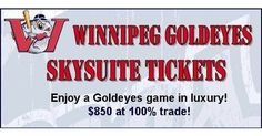 Suite #25 can be all yours for as many games as you'd like! $850 per game or $600 per game if you buy three games. The Skysuite is a great event option for up to 21 people. Contact your broker to book your game in advance. These upcoming games are still available. Call today to book your game!  #Winnipeg #Steinbach #Barter #Exchange